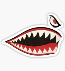 Flying Tigers Nose Art Sticker
