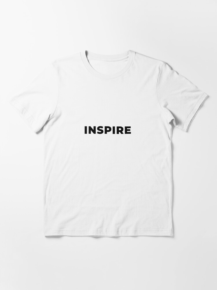 Alternate view of Inspire (Inverted) Essential T-Shirt