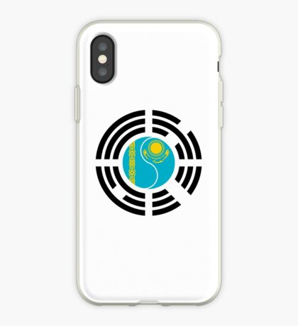 Kazakhstani Korean Multinational Patriot Flag Series iPhone Case