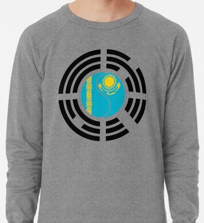 Kazakhstani Korean Multinational Patriot Flag Series Lightweight Sweatshirt