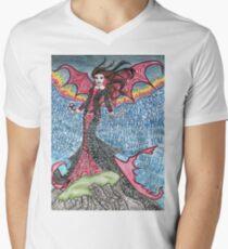 Psychedelic LZ Men's V-Neck T-Shirt