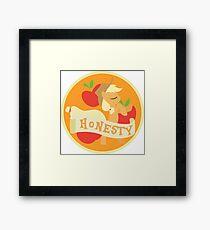 Elements of Harmony - Honesty Framed Print