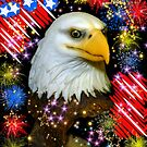 Happy 4th Of July America! by WildestArt