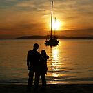Romance at Sunset by Sharon Brown