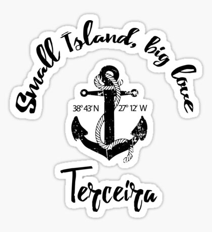 Terceira - Azoren Sticker