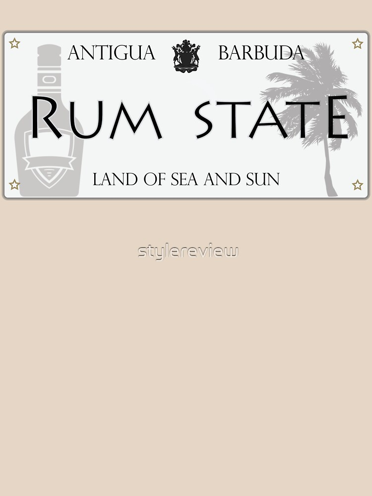 RUM STATE | ANTIGUA BRAND by stylereview