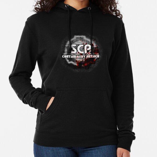 SCP Containment Breach Logo Lightweight Hoodie