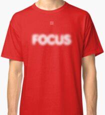 Focus Halftone Classic T-Shirt