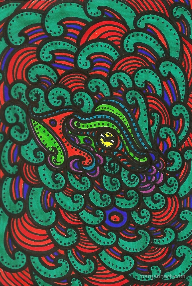 « Oeil de noël » par maryannart-com