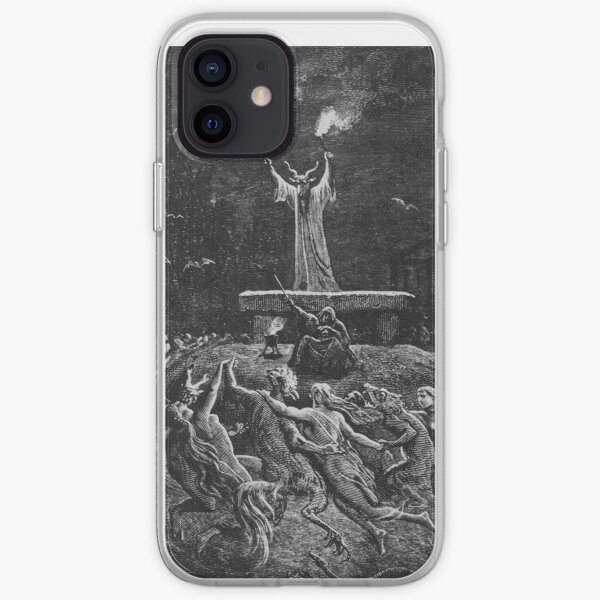 Witches Dancing at a Sabbath - Unknown Doré iPhone Soft Case