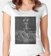 Witches Dancing at a Sabbath - Unknown Doré Women's Fitted Scoop T-Shirt
