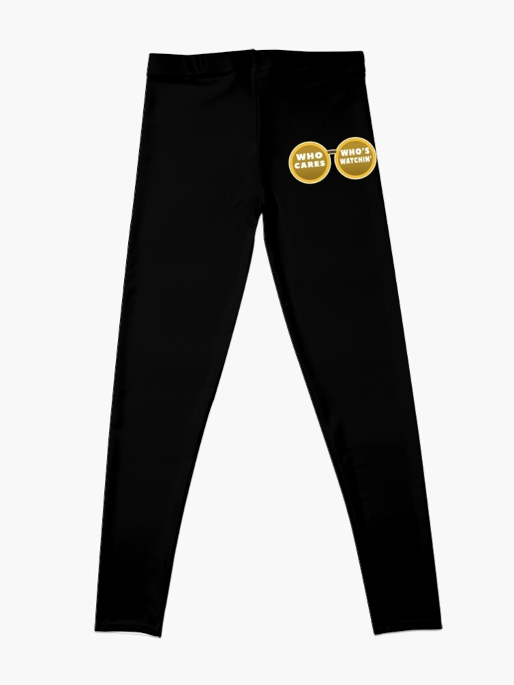 Alternate view of Who cares Leggings