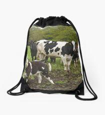 Happy Herd Drawstring Bag