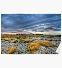 Dry Lake Bed - Color Poster