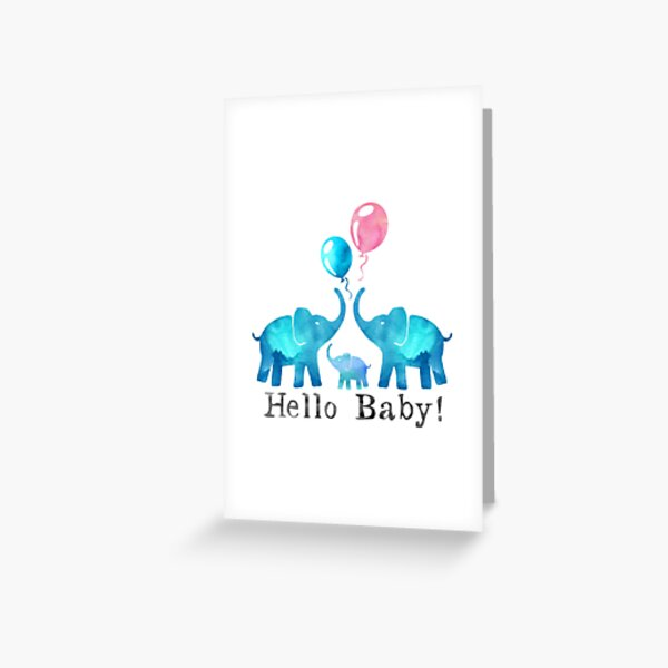 Congratulations New Baby Arrival Gift Card Celebrating Boy Girl Birth Christening Baby Shower Party Greetings Woodland Animal Nursery Design