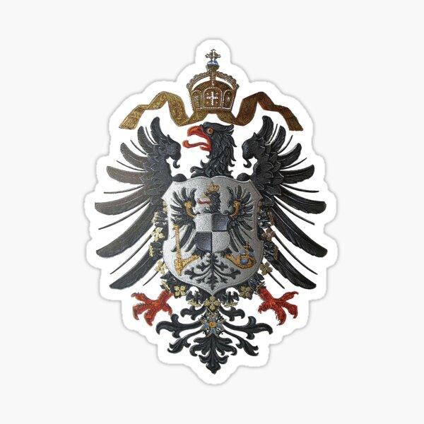 German 1871 Eagle, new Empire design Sticker