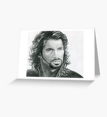 Ares, God Of War Greeting Card