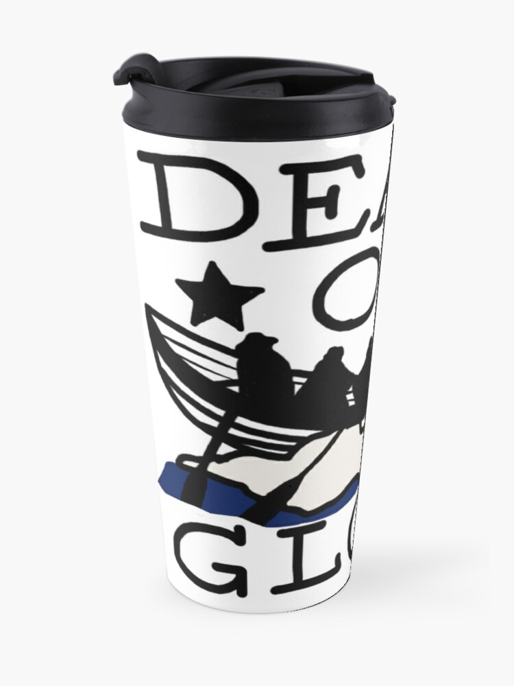 Alternate view of Death or Glory Old Guard Travel Mug