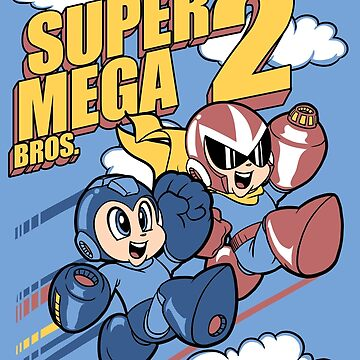 Super Mega Bros Megaman Protoman by pierceistruth