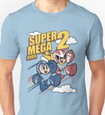 Super Mega Bros Megaman Protoman Unisex T-Shirt