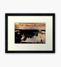 The Fisher Woman Framed Print