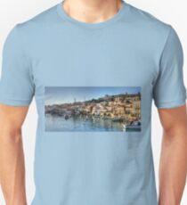 Chalki Harbour Panorama T-Shirt