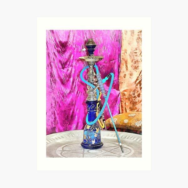 Exotic Oriental Hookah Pipe 3 Art Print