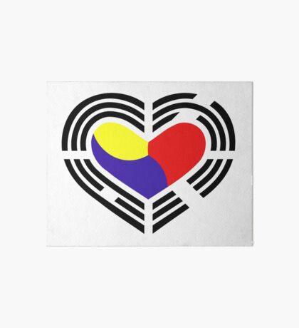 Korean Patriot Flag Series (Heart) Art Board Print