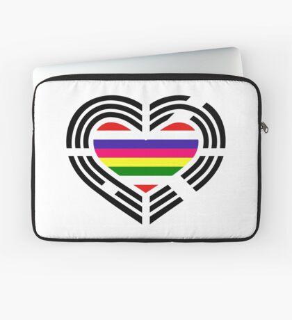Korean Patriot Flag Series (Heart) Laptop Sleeve