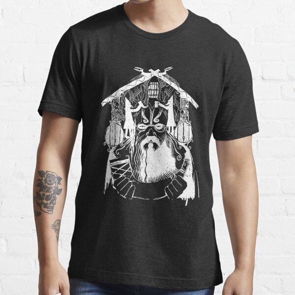 The Banner Saga: Bjorulf God Stone Viking (White) Essential T-Shirt