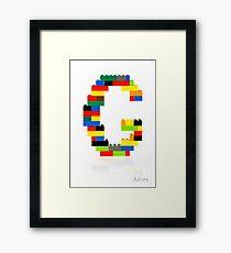 G Framed Print