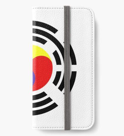 Korean Patriot Flag Series iPhone Wallet