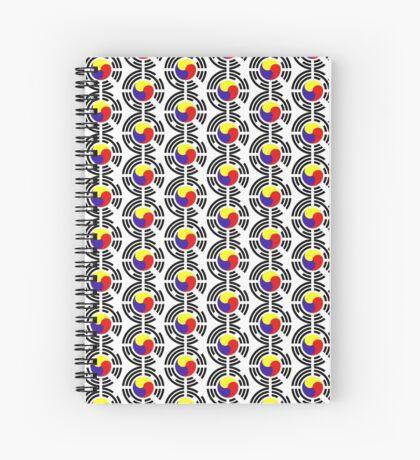 Korean Patriot Flag Series Spiral Notebook