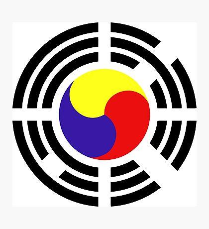 Korean Patriot Flag Series Photographic Print