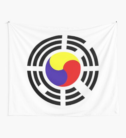 Korean Patriot Flag Series Wall Tapestry