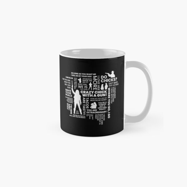 Wynonna Earp Word Cloud Classic Mug
