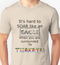 Eagle/Turkey Shirt Unisex T-Shirt