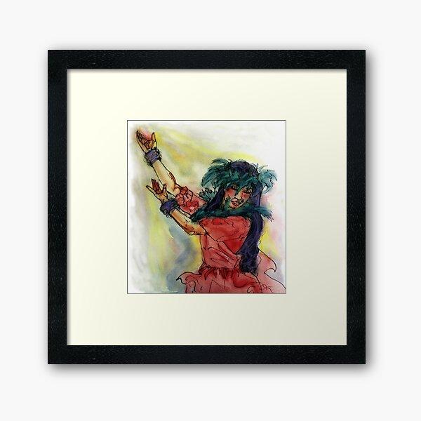 Hawaiian Dancer Framed Art Print
