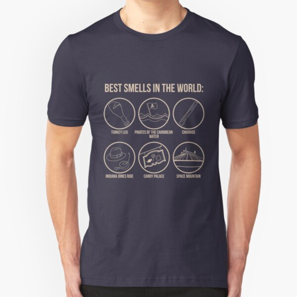 Best Smells In the World Slim Fit T-Shirt