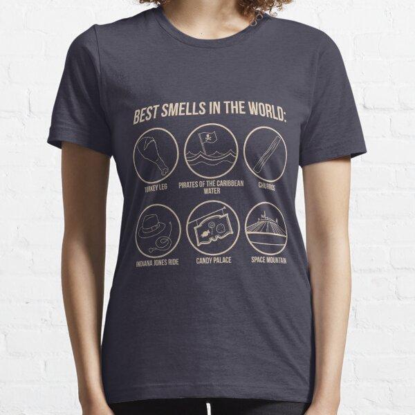 Les meilleures odeurs du monde T-shirt essentiel