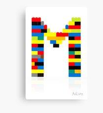 M Canvas Print