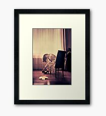 past present (im)perfect Framed Print