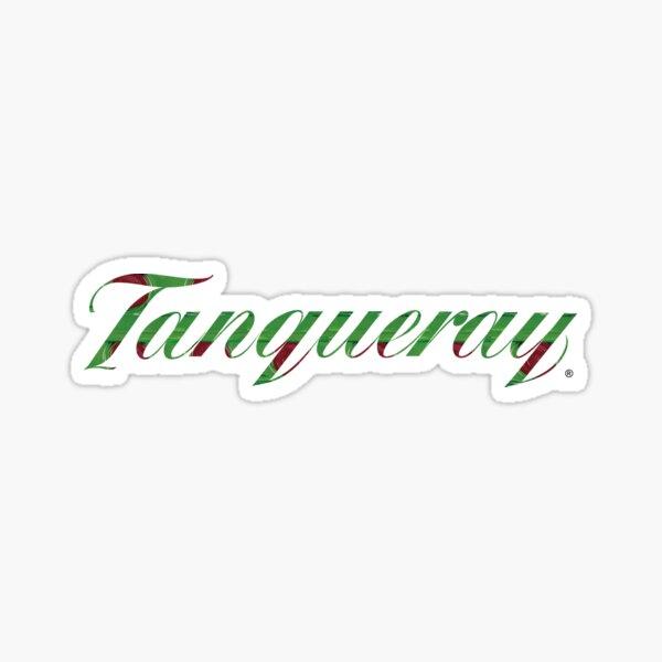Tanqueray Gin Bottle Label Sticker