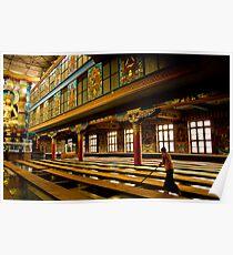 inside golden temple Poster