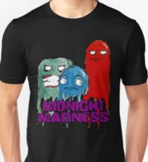 Ghostly Ghosts - Midnight Madness Slim Fit T-Shirt