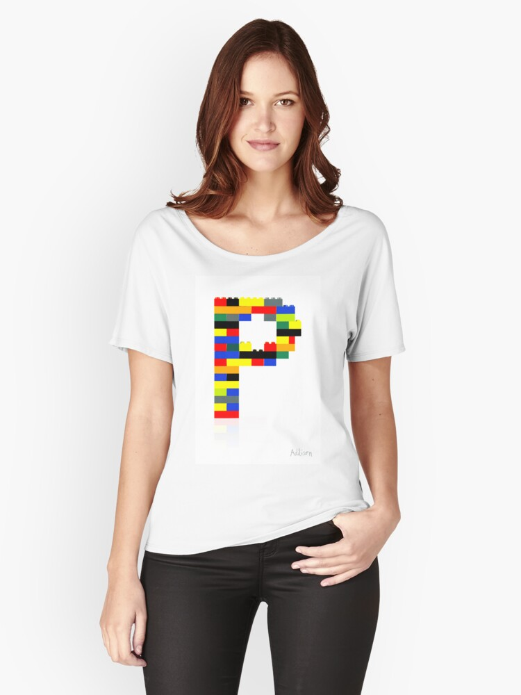 P Women's Relaxed Fit T-Shirt Front