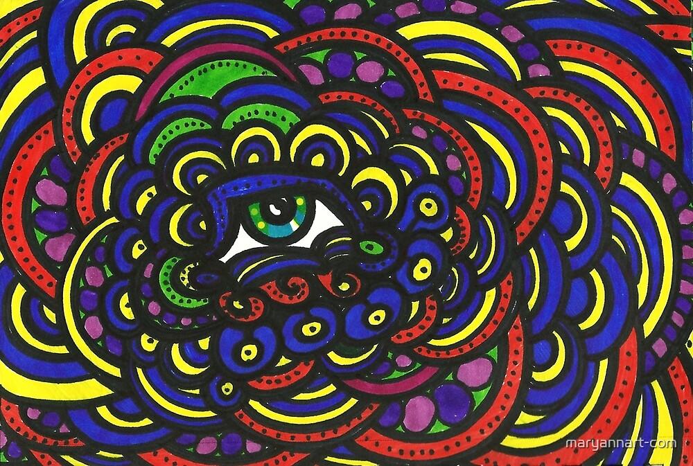 Bubble Eye by maryannart-com