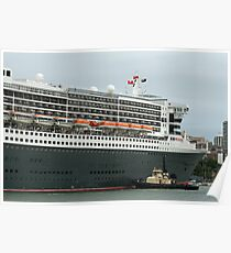 Queen Mary 2 Arrives Sydney 011 Poster