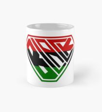 Black SuperEmpowered (Red, Green Mug