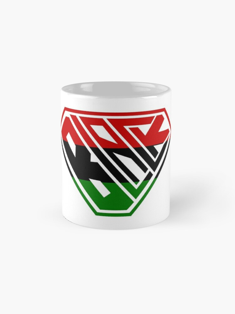 Alternate view of Black SuperEmpowered (Red, Green Mugs
